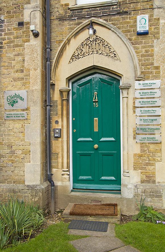 Glenholme Dental Centre entrance