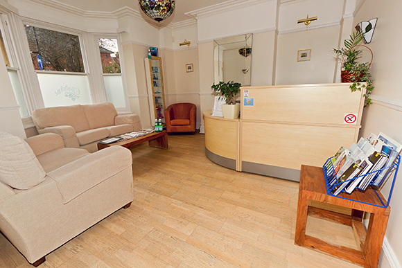 Basingstoke dentists Patients Lounge